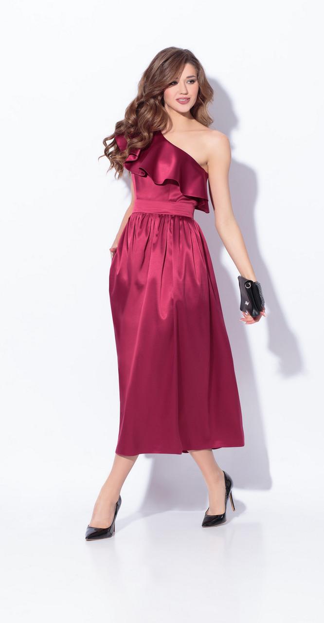 Платье Anna Majewska-1318 Agadir, красный оттенок, 42