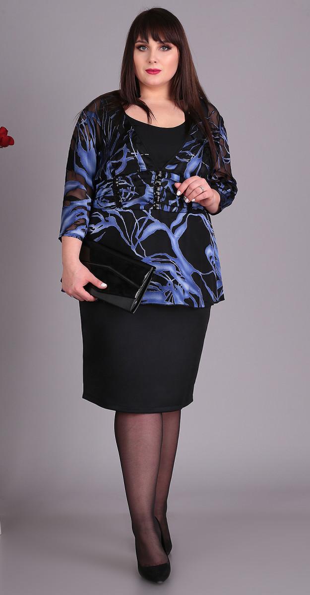 Платье Novella Sharm-3406-с, синий, 60