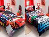 КПБ Детский комплект постельного белья для мальчика Сатин 1,5 спальный.