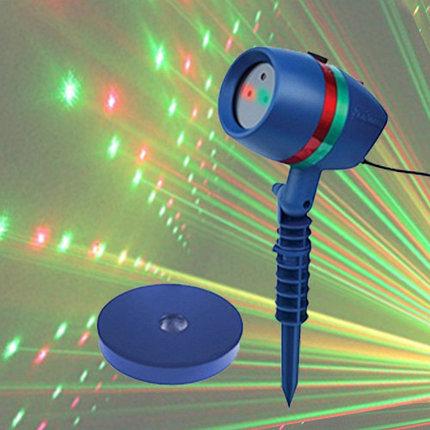 Проектор звездного неба уличный лазерный Star Shower Motion, фото 2