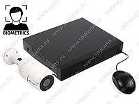 Комплект видеонаблюдения с распознаванием лиц, фото 1