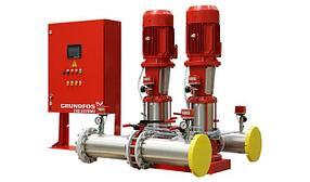 Комплектные насосные установки для систем пожаротушения