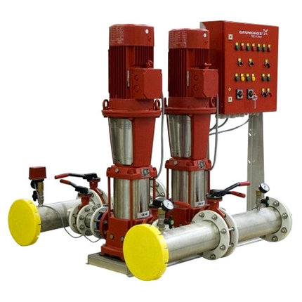Комплектная насосная установка для систем водяного пожаротушения Hydro MX 1/1 на базе насосов CR, фото 2