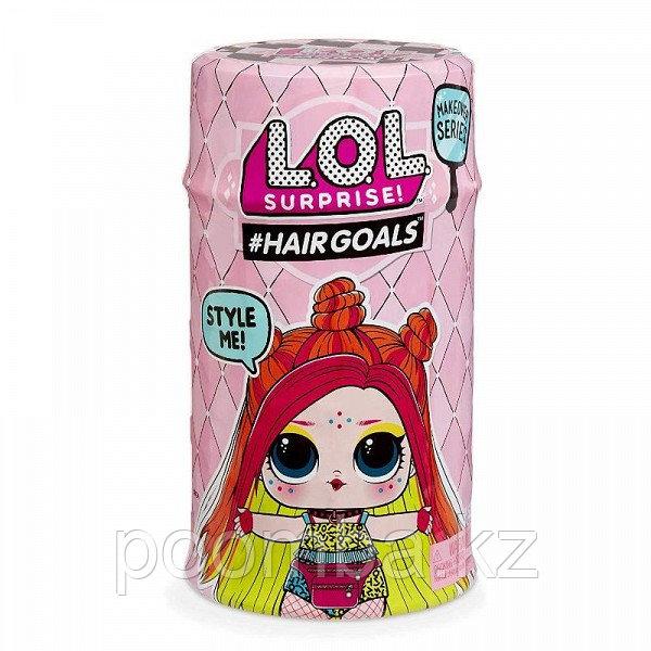 Кукла-сюрприз  в капсуле LOL Surprise 5 Hairgoals Wave 2
