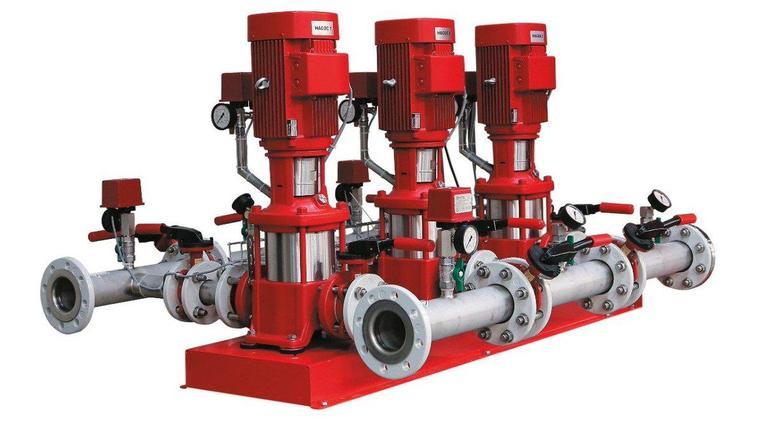 Комплектная насосная установка для систем водяного пожаротушения Hydro MX 2/1 на базе насосов CR, фото 2