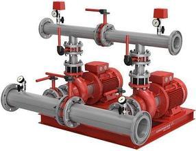 Комплектные насосные установки для систем водяного пожаротушения Hydro MX 1/1 и Hydro MX 2/1 на  насос NB
