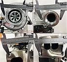 Турбокомпрессор (турбина), с установ. к-том на / для MERCEDES, МЕРСЕДЕС, ATEGO, АТЕГО, MASTER POWER 802301, фото 2