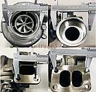 Турбокомпрессор (турбина), с установ. к-том на / для MERCEDES, МЕРСЕДЕС, ACTROS, АКТРОС, MASTER POWER 808288, фото 2