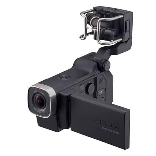 Портативный ручной цифровой аудио и видеорекордер Zoom Q8