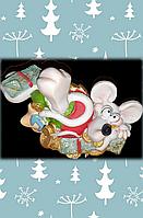 Сувенир, мышки с деньгами, со знаками зодиака., фото 1