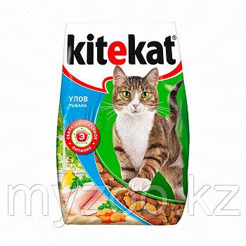 Сухой корм для взрослых кошек Китекат улов рыбака 350 гр