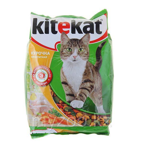 Сухой корм для взрослых кошек Китекат курочка аппетитная 350 гр