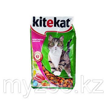 Сухой корм для взрослых кошек Китекат телятинка аппетит 800 гр