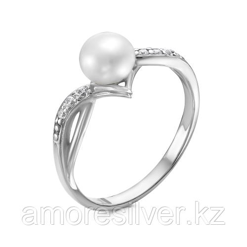 Серебряное кольцо с фианитом  Красная Пресня 23310916Д