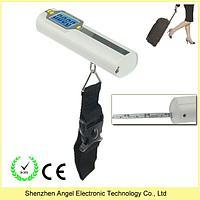 Весы дорожные для багажа электронные с рулеткой, фото 1