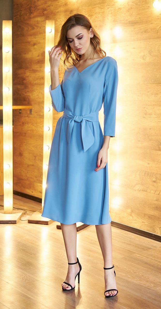 Платье Fantazia Mod-3616, нежно-голубой, 44