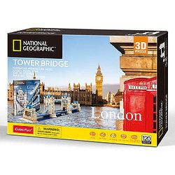 CubicFun Реалистичная архитектурная модель Тауэрский мост (Лондон)