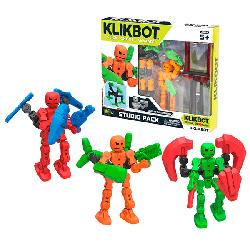 Игрушка набор Студия Klikbot