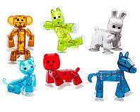 Игрушка Stikbot фигурка питомца, в асс-те 6 видов: заяц, петух, обез, лош, корова, панда