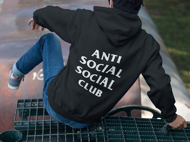 Худи Anti social Social club, фото 2