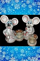 Свечи мыши, новогодние., фото 1
