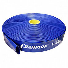 Рукав напорный (50 мм, 100 м, 3 бар) CHAMPION C2550 (Цена за метр)