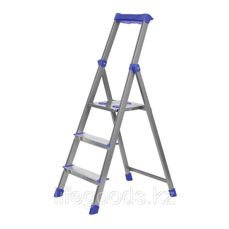 Лестница - стремянка алюминиевая комбинированная 3 ступени Ника СКА3