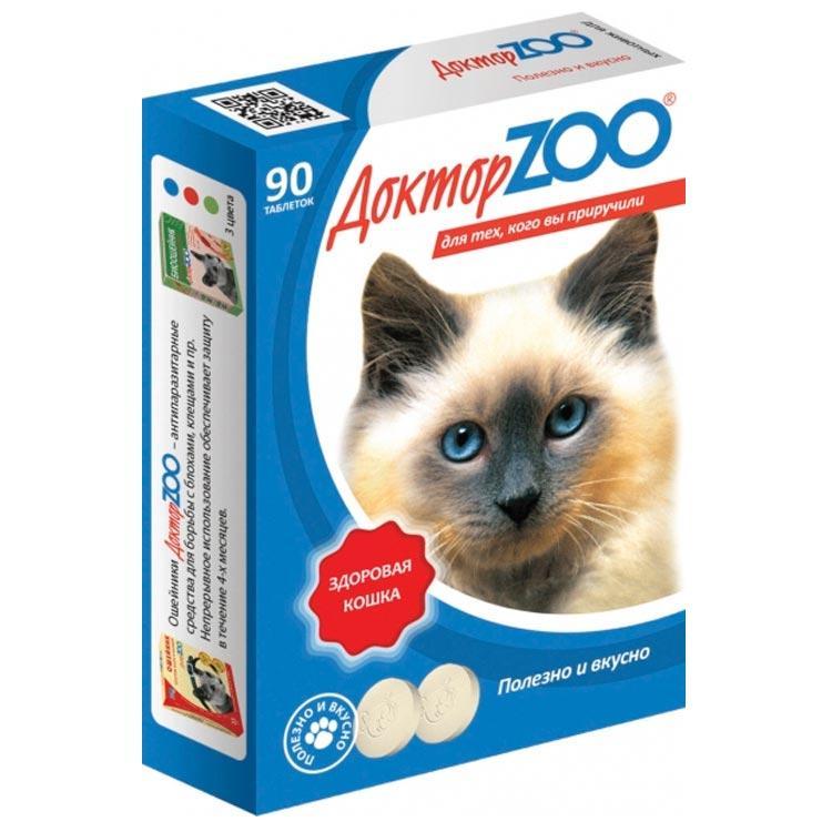 Витаминное лакомство для кошек Доктор ZOO Здоровая Кошка