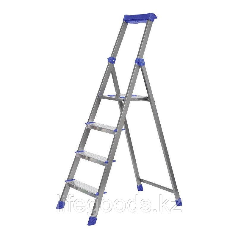 Лестница - стремянка алюминиевая комбинированная 4 ступени Ника СКА4