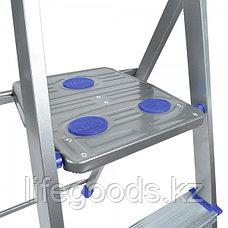 Лестница - стремянка алюминиевая комбинированная 4 ступени Ника СКА4, фото 3