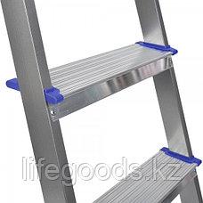 Лестница - стремянка алюминиевая комбинированная 6 ступени Ника СКА6, фото 3