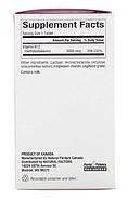Natural Factors, B12, метилкобаламин, 5000 мкг, 60 жевательных таблеток, фото 2