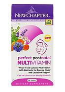 New Chapter, Perfect Postnatal, мультивитамины из цельных продуктов, 96 вегетарианских таблеток, фото 3