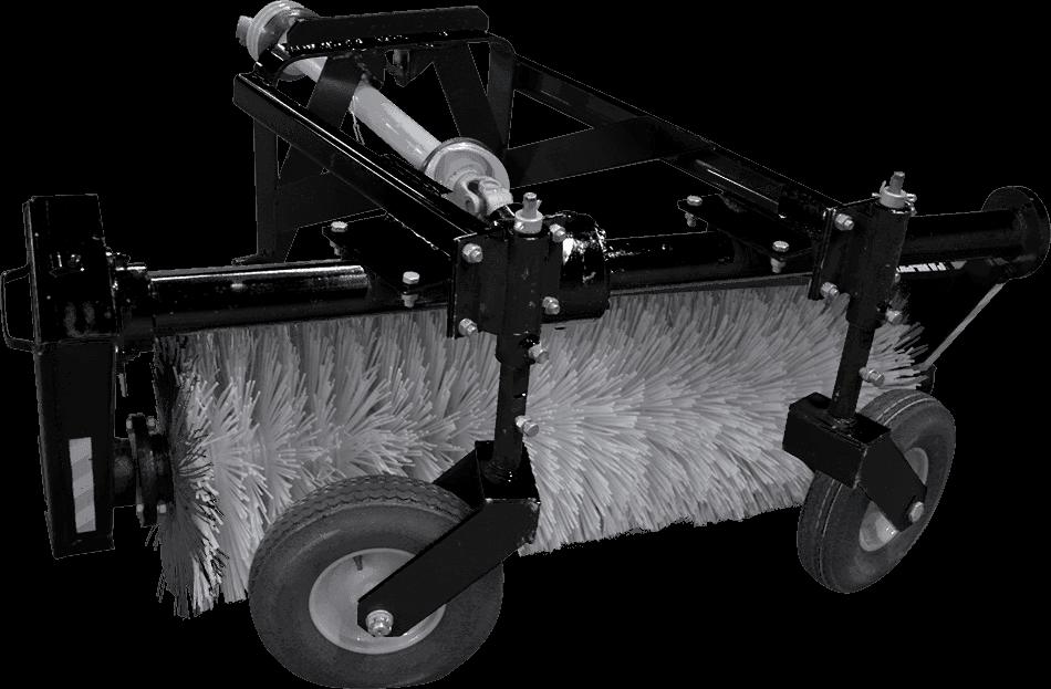 Щёточное оборудование коммунальное (щетка) МКЩ-1,5 на МТЗ-320