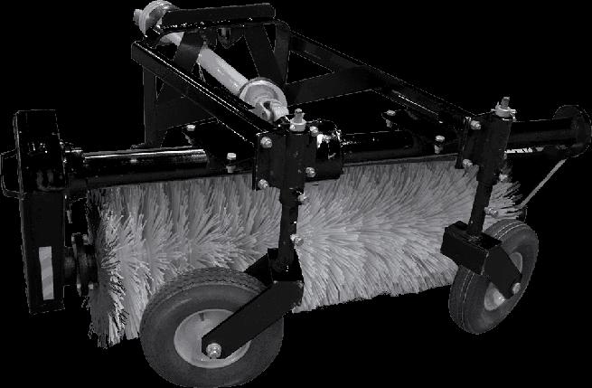Щёточное оборудование коммунальное (щетка) МКЩ-1,5 на МТЗ-320, фото 2