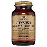 Солгар, Витамин Е 268 мг, 400 IE 100 капсул