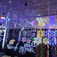 LED гирлянда Снежинка 40*40 см, фото 1