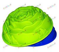 Силиконовая форма для выпекания Розочка, фото 1