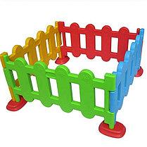 Пластиковый оградительный забор для детских площадок, фото 3