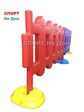 Пластиковый оградительный забор для детских площадок, фото 2