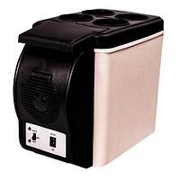 Автохолодильник термоэлектрический переносной 6 л, фото 1