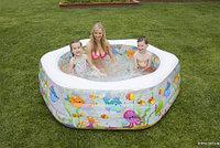 Надувной бассейн детский INTEX 56493 {191 x 178 x 61 см}