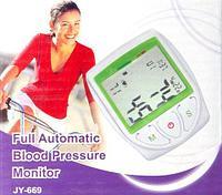 Цифровой тонометр - измеритель артериального давления JY-669, фото 1