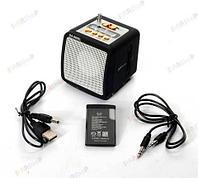Цифровой портативный динамик Mini Speaker в форме кубика