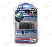 Часы - термометр на присоске для автомобиля