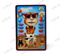 Интерактивная 3D игрушка - маленький планшет Кот-болтун, фото 1