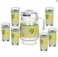 Графины, стаканы, чайные наборы
