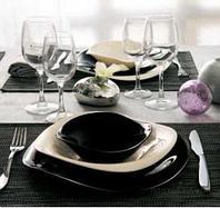 Сервиз столовый Luminarc Volare White&Black H4528, фото 1