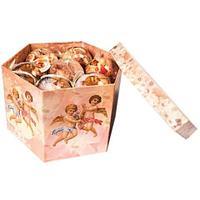 Набор елочных шаров с рисунком «Рождественский ангел», 14 предметов