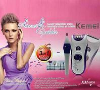 Набор для ухода за волосами и ногтями Kemei KM-3026 3 в 1, фото 1